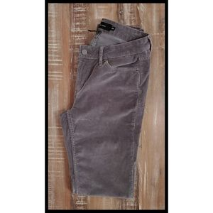 Calvin Klein Gray Ultimate Skinny Corduroy Pants 8